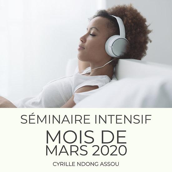 Séminaire intensif de mars 2020 : Ce que devrait être la spiritualité