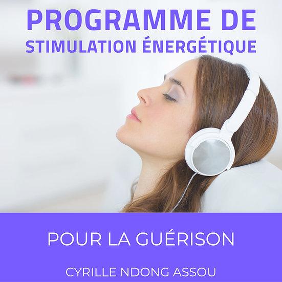 Programme de stimulation énergétique pour la guérison