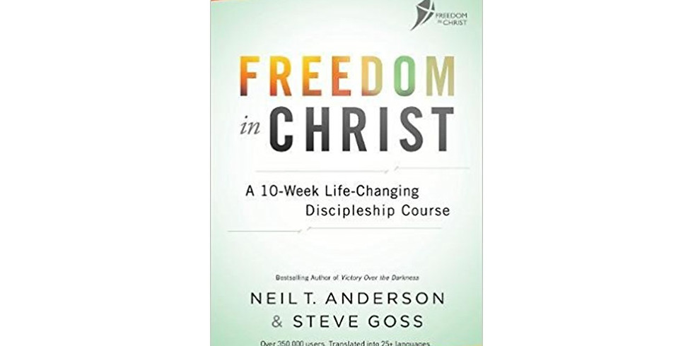 Freedom In Christ (FIC) Course