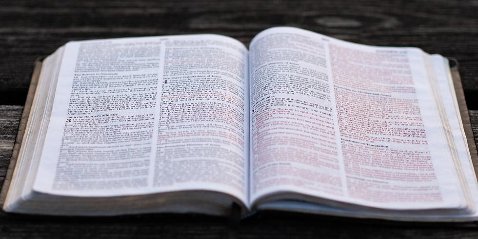 SCHOOL OF DISCIPLESHIP (SOD) MODULE III (over Zoom) - SCRIPTURE