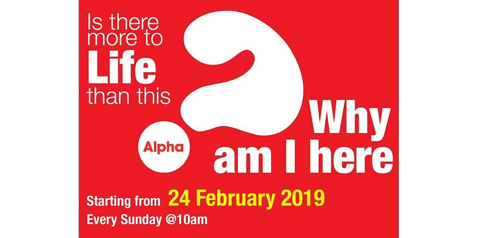 Alpha@Sunday 2019