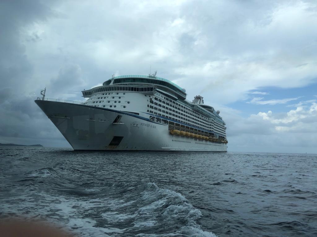 9. Cruise ship