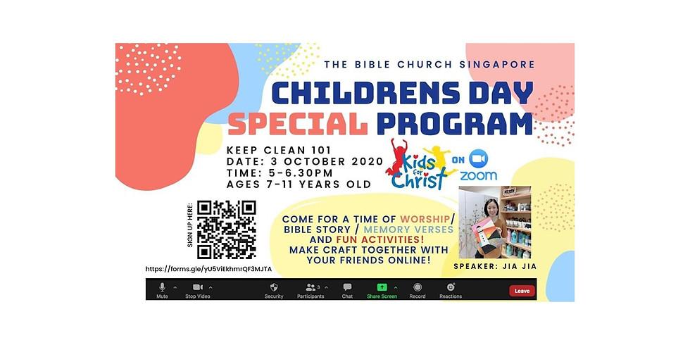 KFC CHILDREN'S DAY SPECIAL PROGRAM