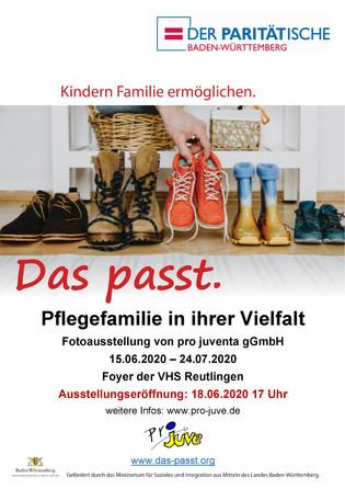 """Fotoausstellung zur """"Das passt."""" Kampagne - Pflegefamilien in ihrer Vielfalt"""