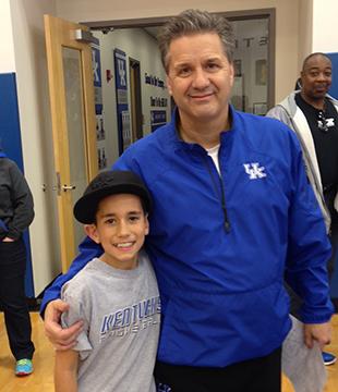 Me and Coach Calipari