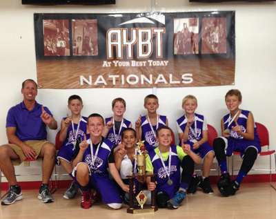 2014 AYBT National Champs Team