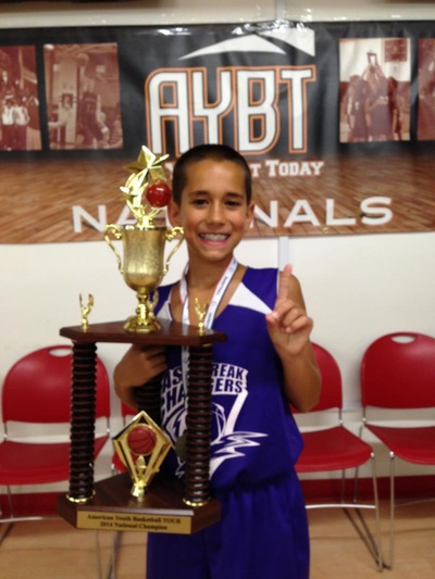 2014 AYBT National Champs Trophy