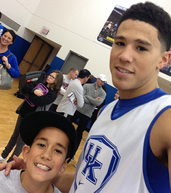 Me and Devin Booker