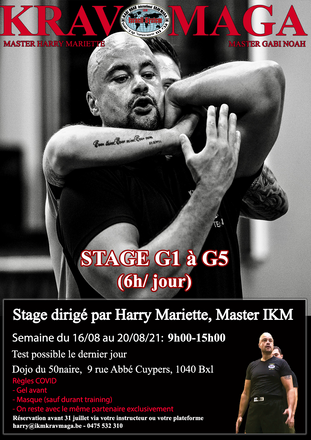 stage G AOUT 21