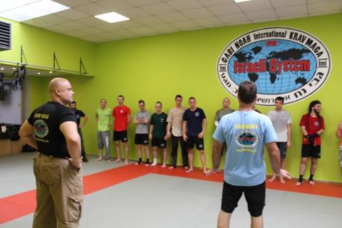 Krav Maga Gabi Noah Self defense Bruxelles1320