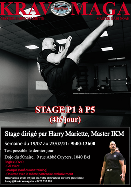 stage P JUILLET 21