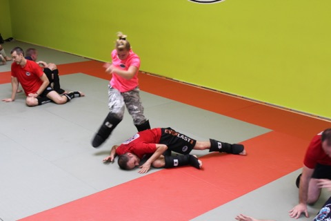 Krav Maga Gabi Noah Self defense Bruxelles1287
