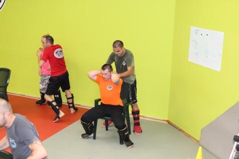 Krav Maga Gabi Noah Self defense Bruxelles1270