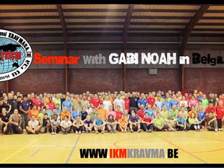Le premier stage de la saison avec Gabi NOAH à La Louvière
