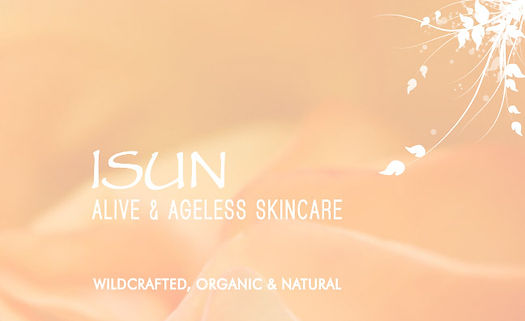 isun all natural, wildcrafted, and organic skin care