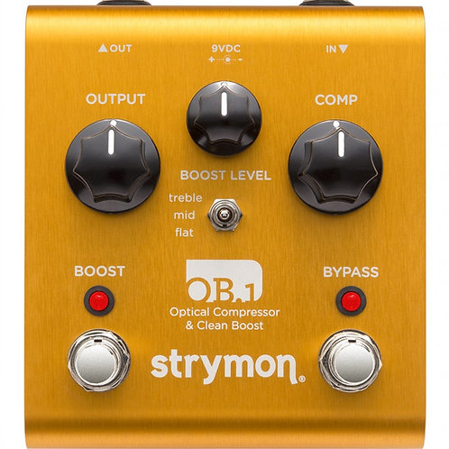 Strymon OB.1 Optical Compressor & Boost