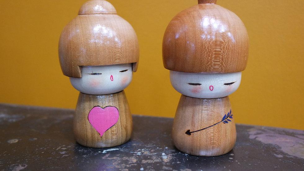 Kokeshi d'amour