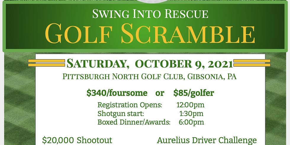 2021 Swing Into Rescue Golf Scramble