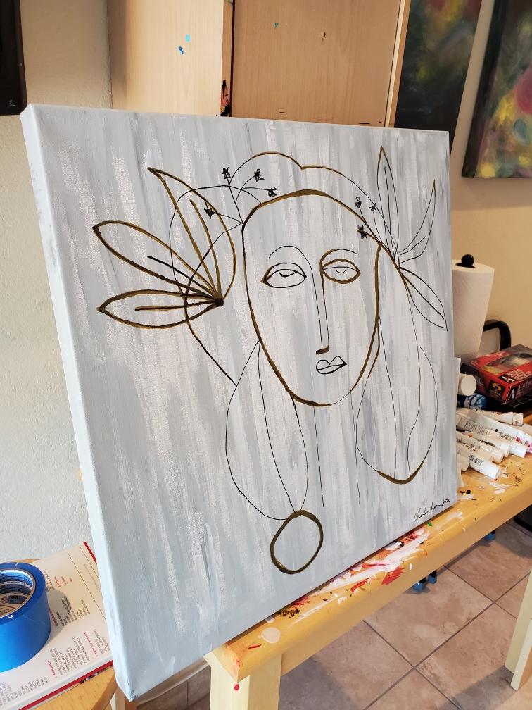 Picasso Lady 2