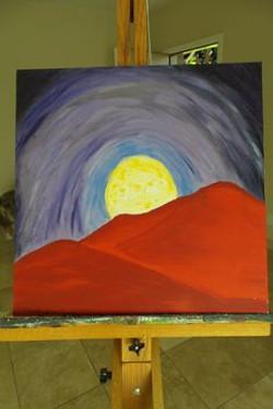 Moon Rock 2000  20x20