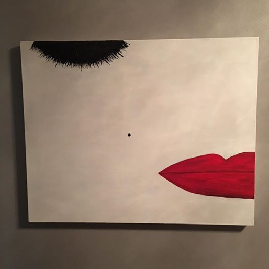 Lips & Lashes  2016  24x36