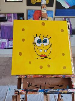 2020_10_13 Sponge Bob 24x24 acrylic (2).