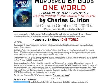 Murdered By Gods: ONE WORLD = Novel #15