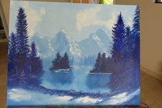 Blue Trees 2000  20x16