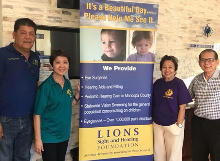 Cataract Mission with the Phoenix Phil-Am Lions Club