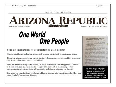 AZ Republic Letter to the Editor