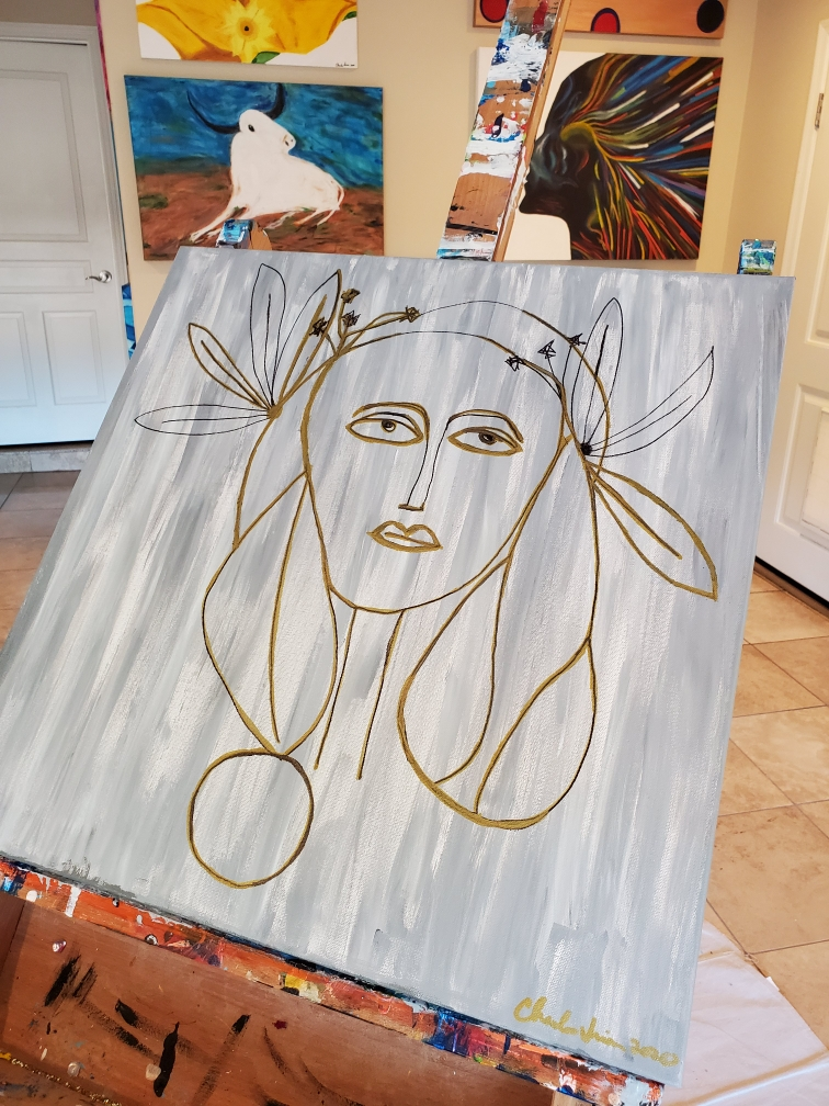 Picasso Lady 1