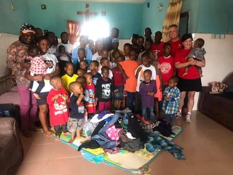 Nigerian Orphanage Visit