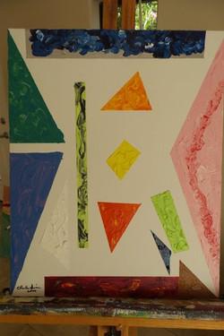Shapes #1  16x20