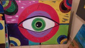 Circle Eye 2016  48x36