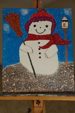 Frosty 2001  20x24