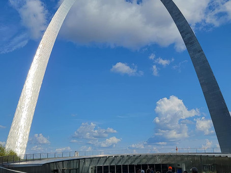 St. Louis Arch: Crowning End to our Journey on the Queen of the Mississippi