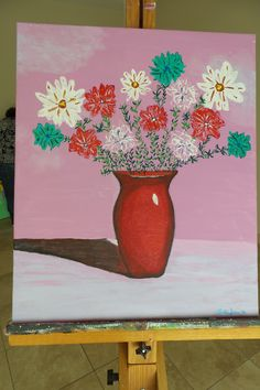 Simple Vase 2001  18x24