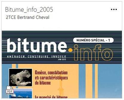 bitume info