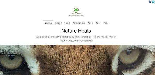 NATURE HEALS - PHOTOGRAPHER - MANAGED DO