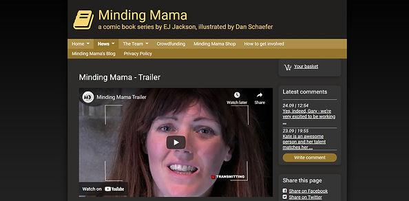 MINDING MAMA - AUTHOR, MANAGED DOMAIN.JP