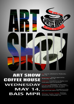 Art Show Advertisement