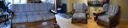ReUpholstered Sofa Set