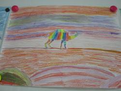 Creative Color Wheel Animals