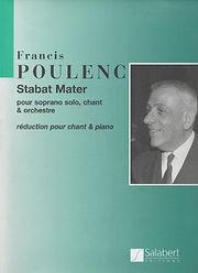 Partition Poulenc Stabat Mater