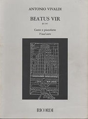Partition Vivaldi Beatus Vir