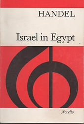 Partition Haendel Israel en Egypte