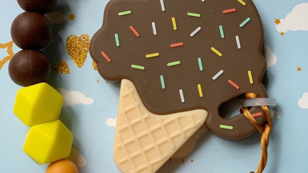 Choco Ice Cream Teether