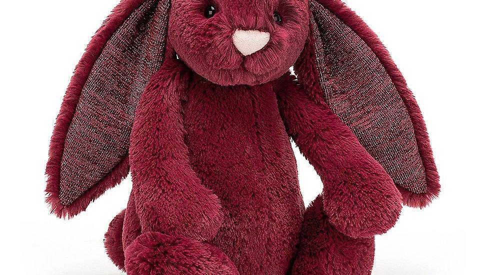 Bashful Sparkly Cassis Bunny
