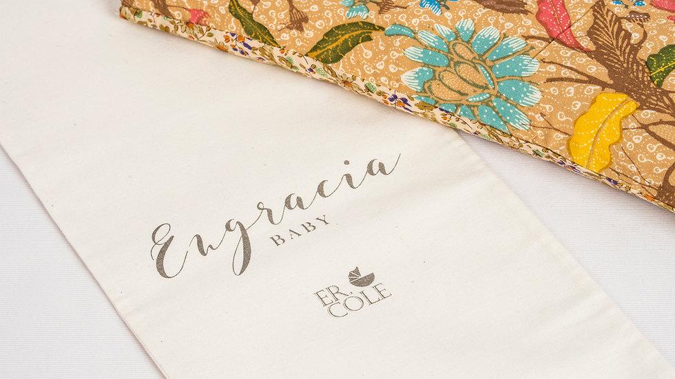 Flower Batik Baby Pillow
