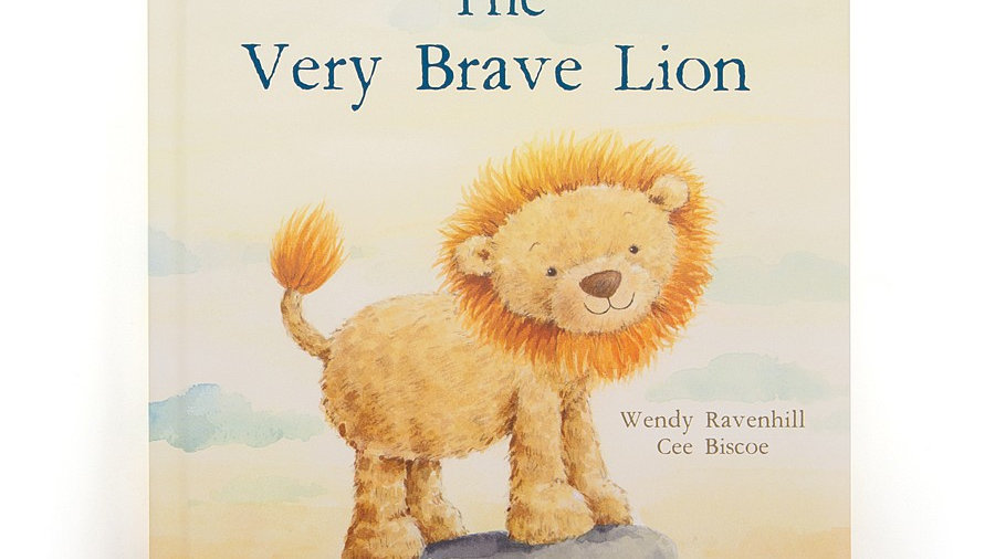 Very Brave Lion Book
